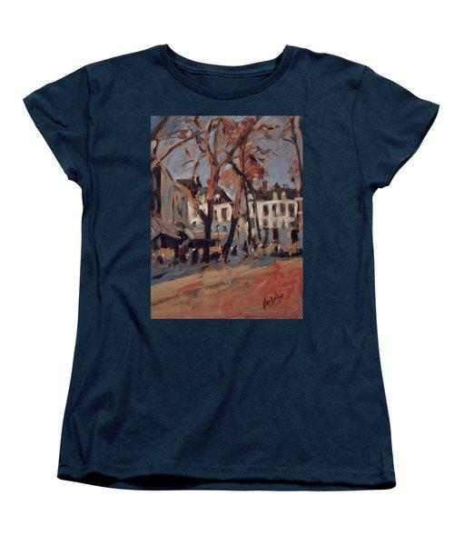 Last Sunbeams Our Lady Square Maastricht Women's T-Shirt (Standard Cut) by Nop Briex