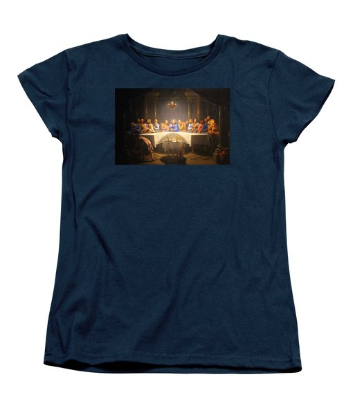 Last Supper Meeting Women's T-Shirt (Standard Cut) by Munir Alawi