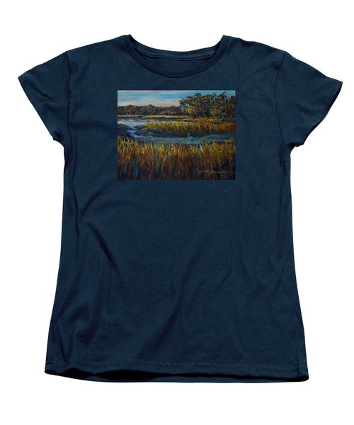 Late Afternoon Women's T-Shirt (Standard Cut) by Dorothy Allston Rogers