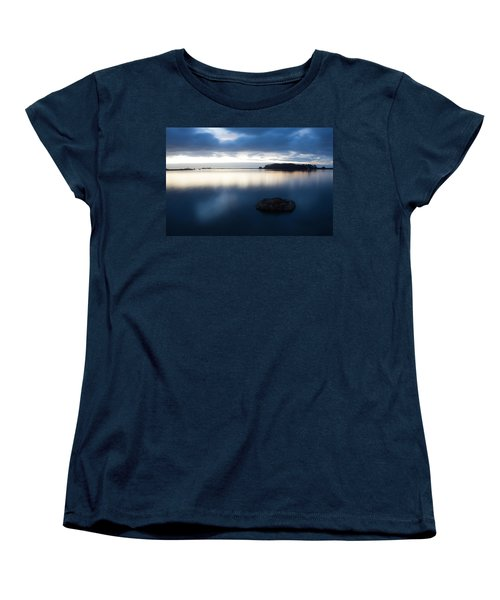 Late Evening On The Hikshari Women's T-Shirt (Standard Cut) by Mark Alder
