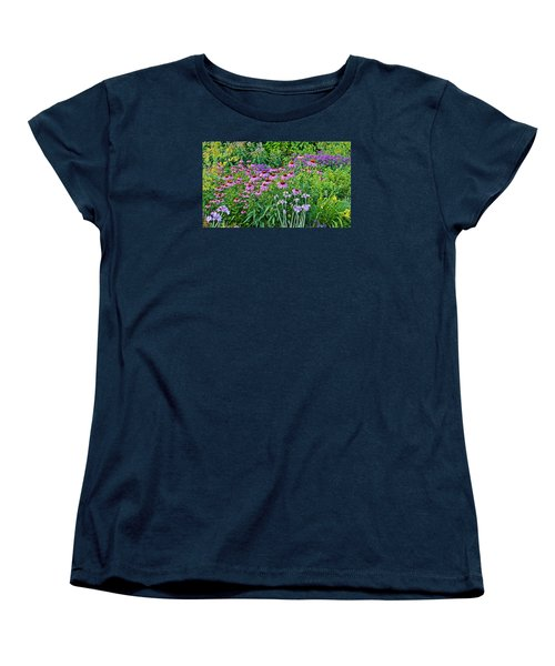 Late July Garden 2 Women's T-Shirt (Standard Cut) by Janis Nussbaum Senungetuk