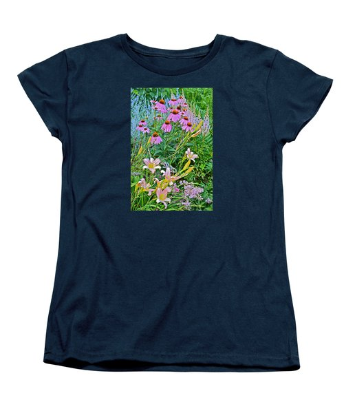 Late July Garden 3 Women's T-Shirt (Standard Cut) by Janis Nussbaum Senungetuk