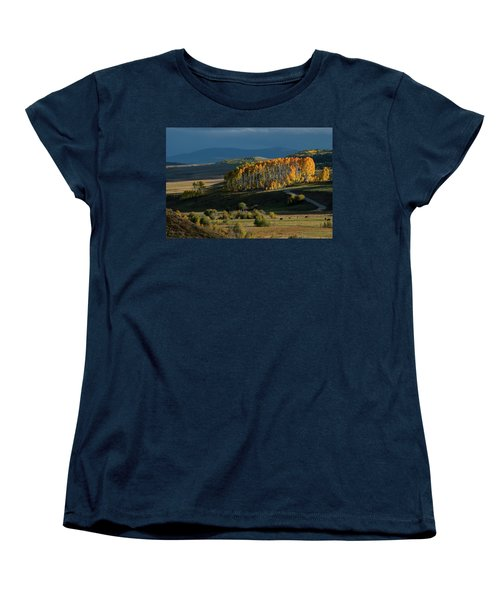 Women's T-Shirt (Standard Cut) featuring the photograph Late Stand by Dana Sohr