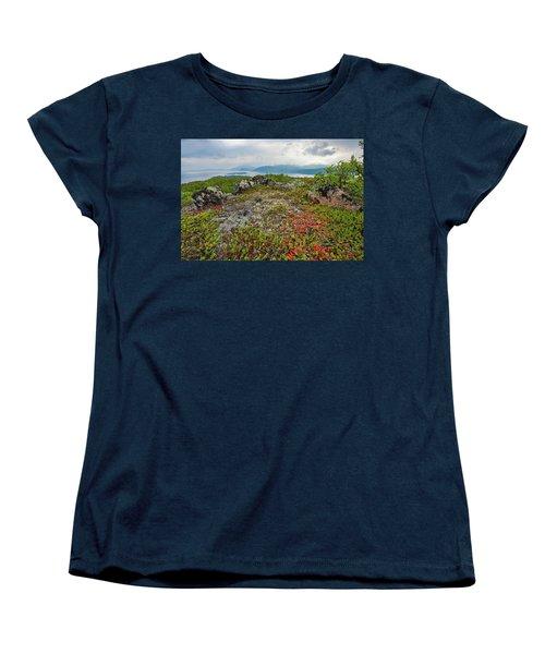 Late Summer In The North Women's T-Shirt (Standard Cut) by Maciej Markiewicz