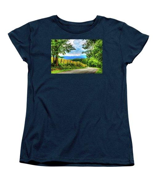 Laurel Hill View Women's T-Shirt (Standard Cut) by Dale R Carlson