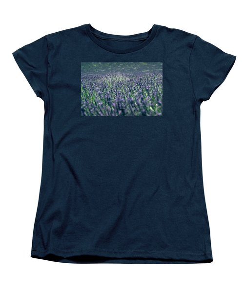 Lavender Women's T-Shirt (Standard Cut) by Flavia Westerwelle