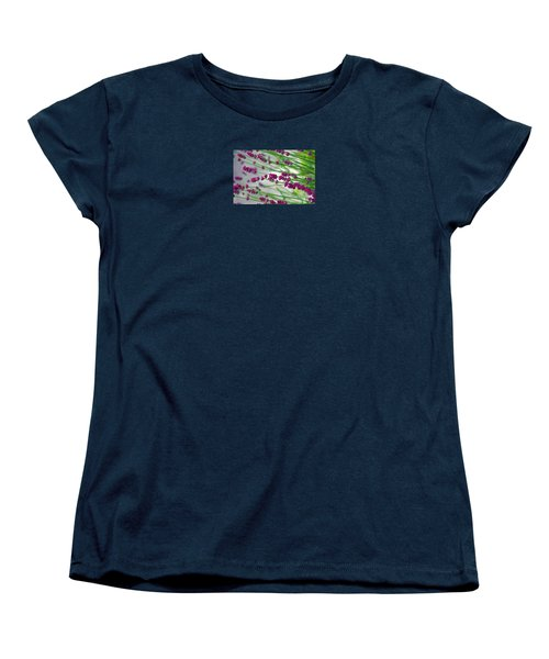 Women's T-Shirt (Standard Cut) featuring the photograph Lavender by Susanne Van Hulst