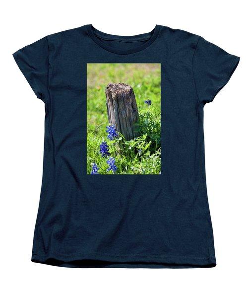 Lazin' In The Sun Women's T-Shirt (Standard Cut) by Joan Bertucci