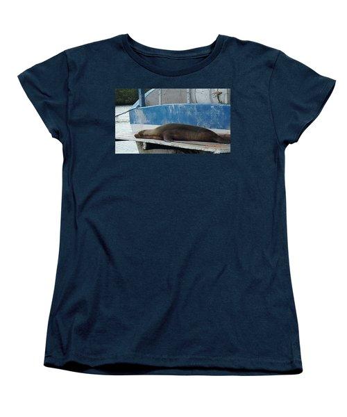 Lazy Day Women's T-Shirt (Standard Cut) by Will Burlingham