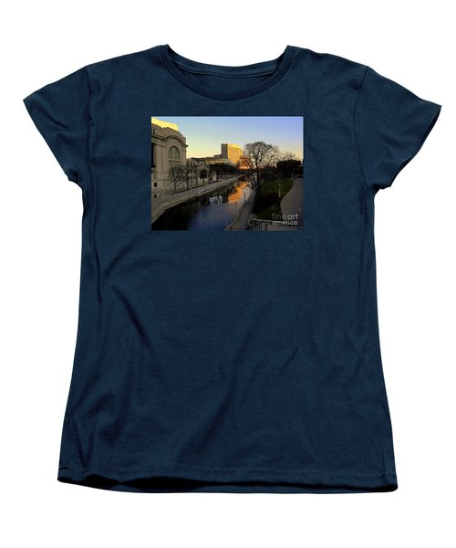 Women's T-Shirt (Standard Cut) featuring the photograph Le Rideau, by Elfriede Fulda