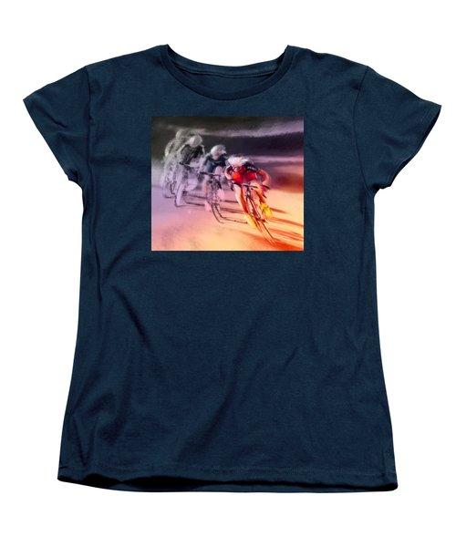 Le Tour De France 13 Women's T-Shirt (Standard Cut) by Miki De Goodaboom