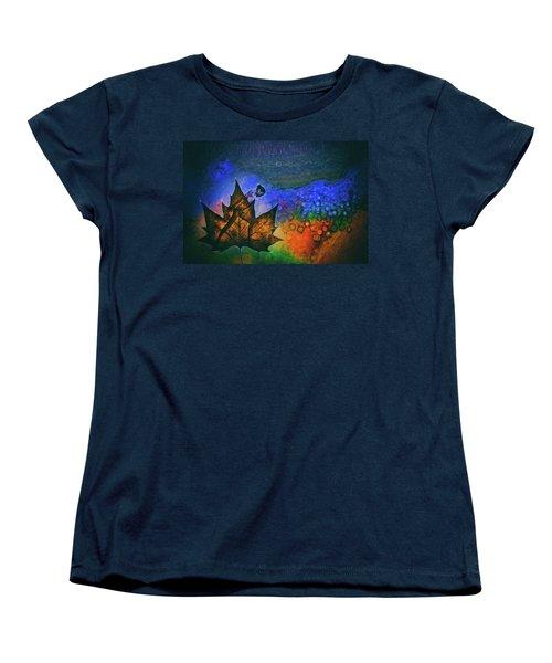 Leaf Dancer Women's T-Shirt (Standard Cut) by James Bethanis