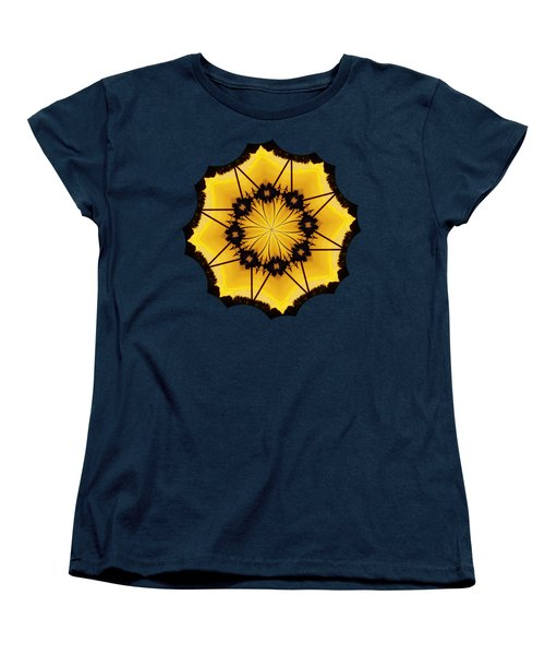 Leafy Kaleidoscope 2 Women's T-Shirt (Standard Cut) by Lori Kingston