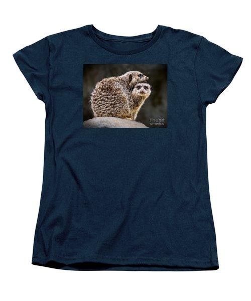 Lean On Me Women's T-Shirt (Standard Cut) by Jamie Pham