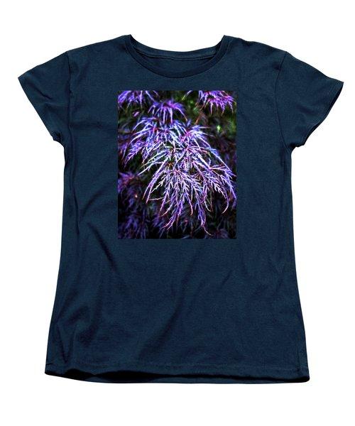 Leaves In The Light Women's T-Shirt (Standard Cut) by Robert FERD Frank