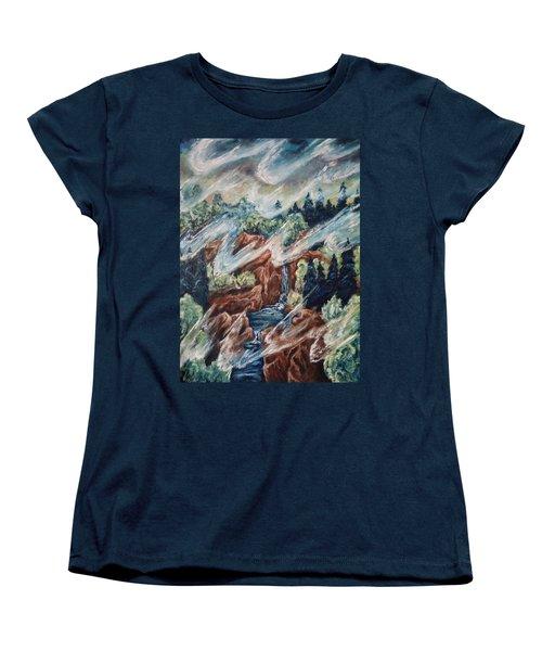 Leaving Eden Women's T-Shirt (Standard Cut) by Cheryl Pettigrew