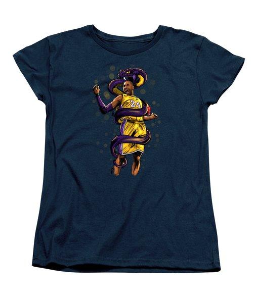 Legend Black Mamba Women's T-Shirt (Standard Cut) by Akyanyme