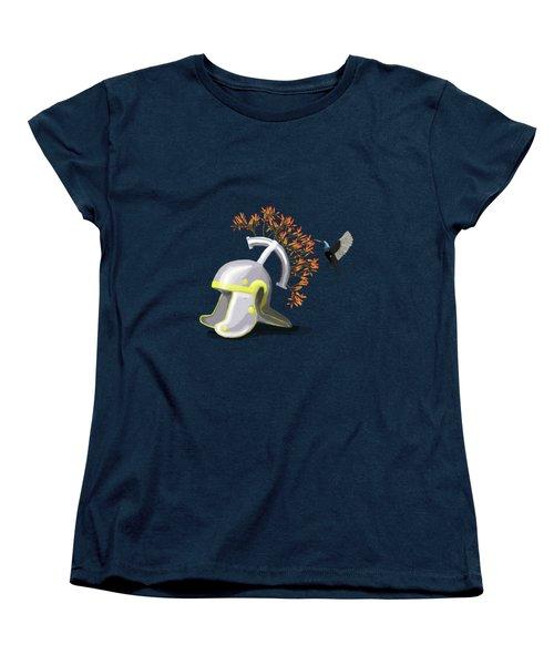 Legions Helmet Women's T-Shirt (Standard Cut) by Keshava Shukla
