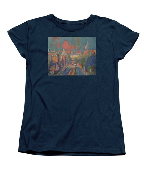 Leidse Plein Red Cloud Women's T-Shirt (Standard Fit)