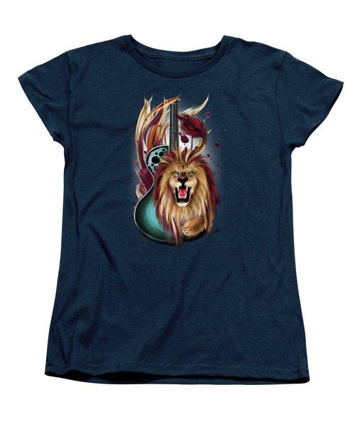 Leo Women's T-Shirt (Standard Cut) by Melanie D