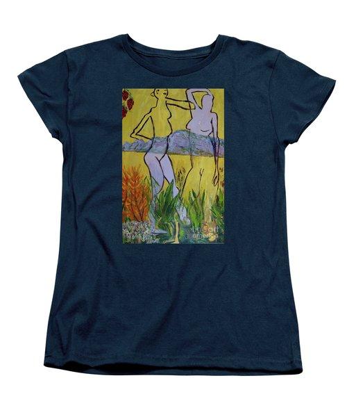 Les Nymphs D'aureille Women's T-Shirt (Standard Cut) by Paul McKey