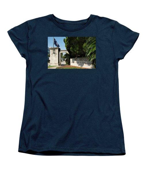 Lesesne Gate Women's T-Shirt (Standard Cut) by Ed Waldrop
