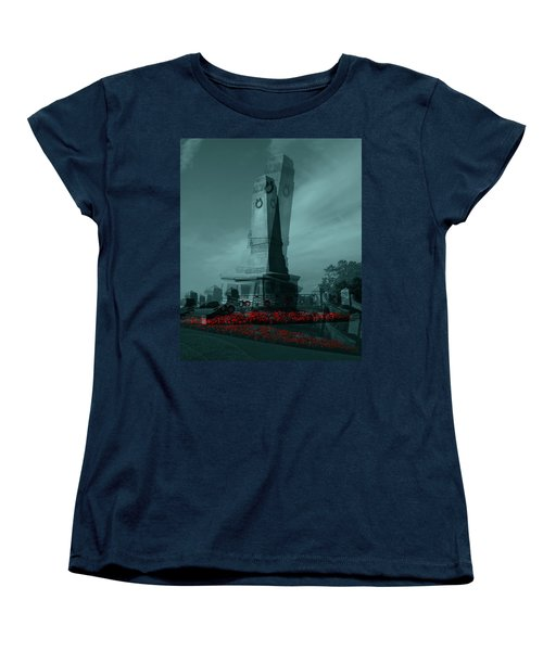 Lest We Forget. Women's T-Shirt (Standard Cut) by Keith Elliott