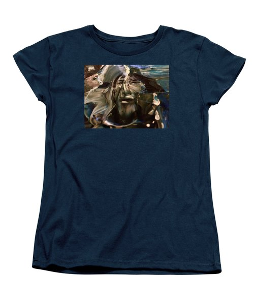 Let Go The Anchor Women's T-Shirt (Standard Cut) by Kicking Bear Productions