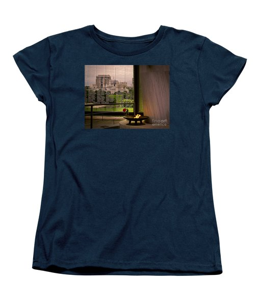 Women's T-Shirt (Standard Cut) featuring the photograph Let The Flame Never Die by Melissa Messick