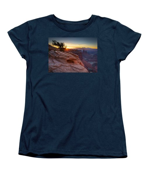 Women's T-Shirt (Standard Cut) featuring the photograph Let There Be Light by Dan Mihai