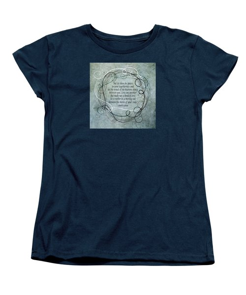 Let There Be Spaces Women's T-Shirt (Standard Cut) by Angelina Vick