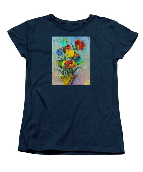 Let Your Individualism Stand Out Women's T-Shirt (Standard Cut) by Terry Honstead