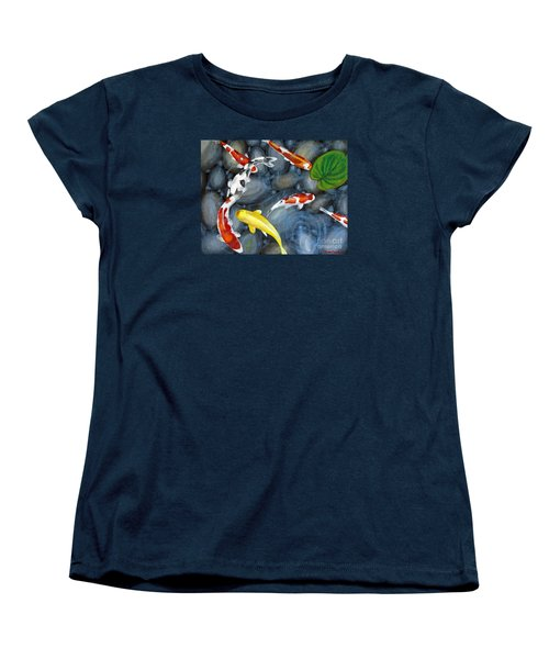 Let's Go Swimming Women's T-Shirt (Standard Cut) by Laura Forde