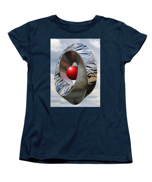 Women's T-Shirt (Standard Cut) featuring the photograph Levitation Hybrid by Christopher McKenzie