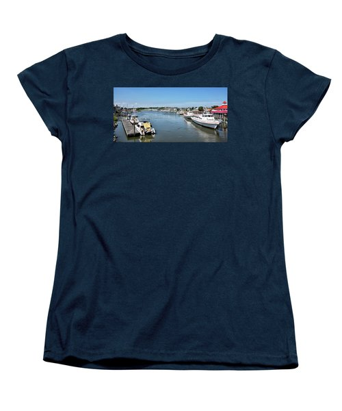 Women's T-Shirt (Standard Cut) featuring the photograph Lewes Delaware by Brendan Reals