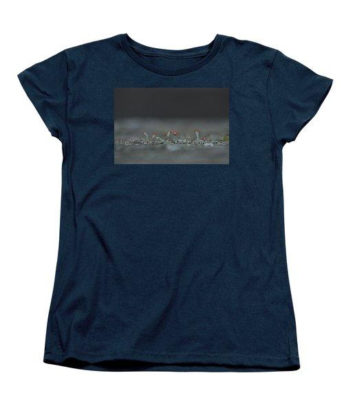 Lichen-scape Women's T-Shirt (Standard Cut) by JD Grimes
