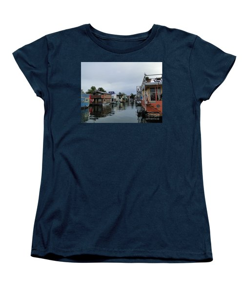 Life On The Water Women's T-Shirt (Standard Cut) by Cindy Croal