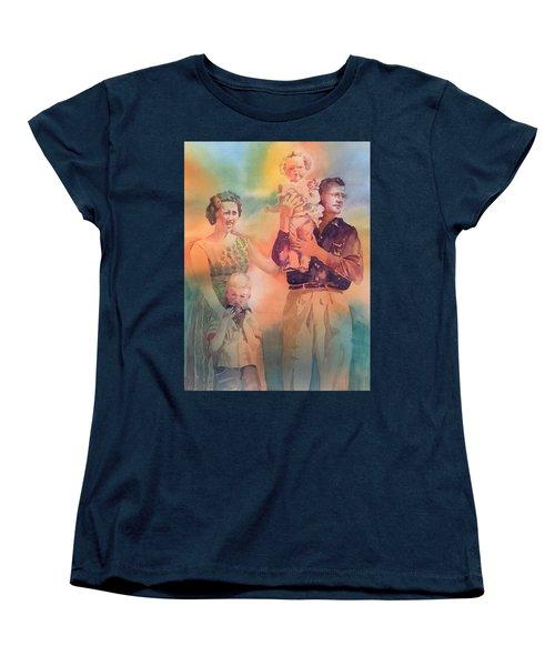 Life Was Good, Circa 1957 Women's T-Shirt (Standard Cut) by Tara Moorman
