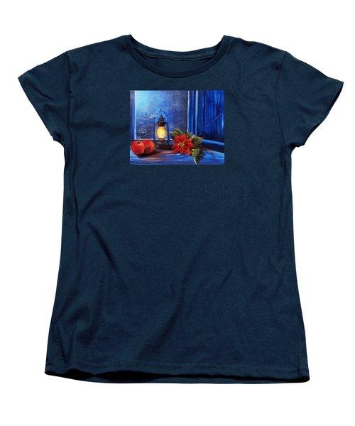 Light 2 Women's T-Shirt (Standard Cut) by Vesna Martinjak