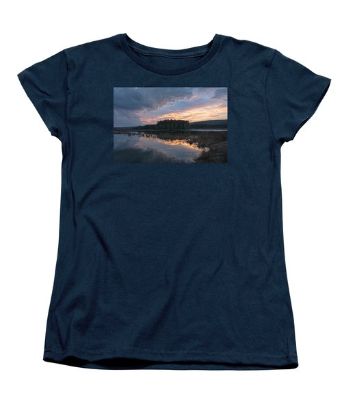 Light And Dark Women's T-Shirt (Standard Cut) by Angelo Marcialis