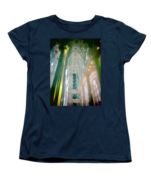 Light Dancing On The Ceiling Women's T-Shirt (Standard Cut) by Christin Brodie