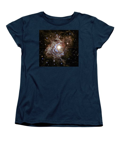 Women's T-Shirt (Standard Cut) featuring the photograph Light Echoes by Marco Oliveira
