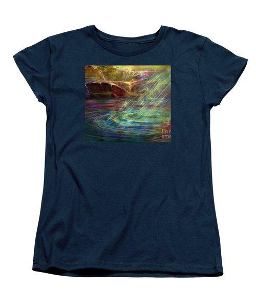 Light In Water Women's T-Shirt (Standard Cut)