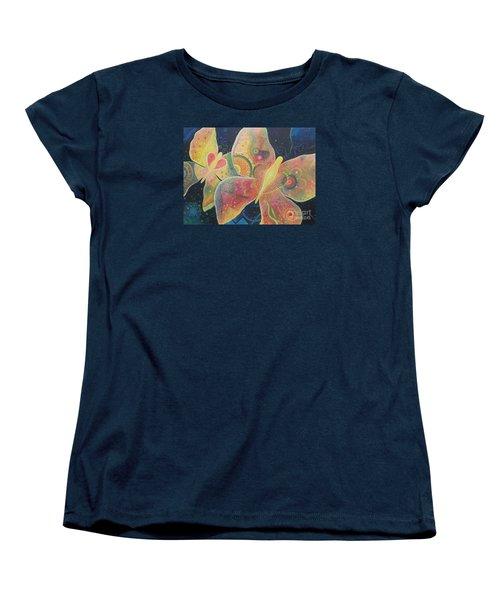 Lighthearted Women's T-Shirt (Standard Cut) by Helena Tiainen