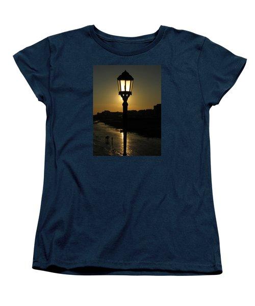Lighting Up The Beach Women's T-Shirt (Standard Cut) by John Topman