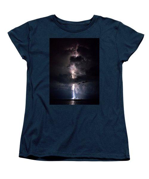Lightning Women's T-Shirt (Standard Cut) by Richard Zentner