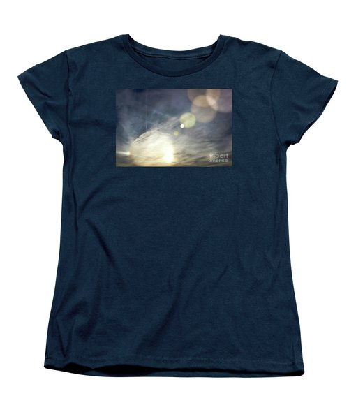 Women's T-Shirt (Standard Cut) featuring the photograph Lightshow by Colleen Kammerer