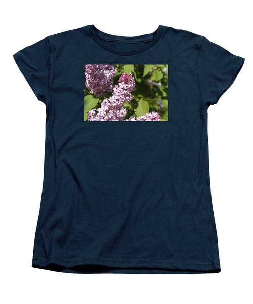Women's T-Shirt (Standard Cut) featuring the photograph Lilacs 5552 by Antonio Romero