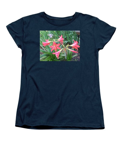 Women's T-Shirt (Standard Cut) featuring the photograph Lillies by Cathy Harper