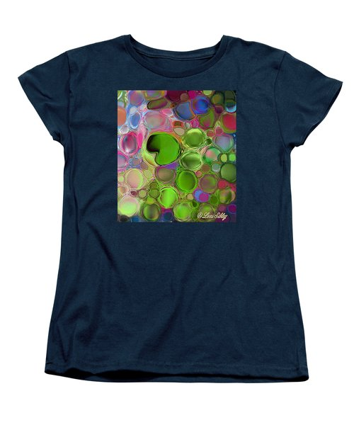 Lilly Pond Women's T-Shirt (Standard Cut) by Loxi Sibley